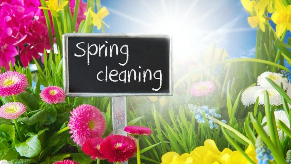 Spring Time Means Cleaning Time For Seve…