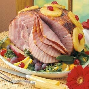 A Father, A Son And A Thanksgiving Ham
